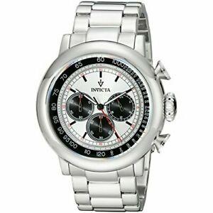 【送料無料】腕時計 ビンテージステンレススチールクロノグラフウォッチinvicta vintage 15065 stainless steel chronograph watch