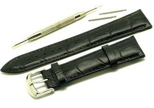【送料無料】腕時計 クロコダイルウォッチストラップバーリムーバーツールエンボス