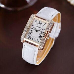 【送料無料】腕時計 ラインストーンレディースストラップsquare luxury women watches rhinestone ladies wristwatch womens quartz wrist