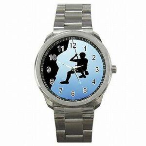 【送料無料】腕時計 ロープハーネスステンレススチールウォッチ