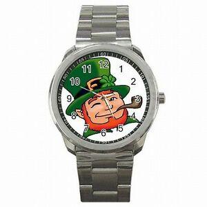 【送料無料】腕時計 セントパトリックスデイステンレススチールウォッチ