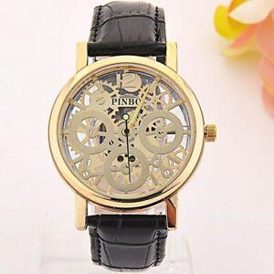 【送料無料】腕時計 ファッションウォッチカジュアル2017 luxury pinbo brand fashion watch men and women casual hollow quartz