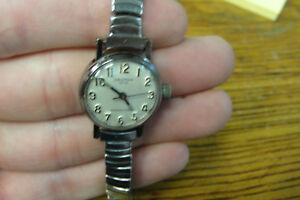 【送料無料】腕時計 ヴィンテージクロトンメンズレディースステンレススチールvintage croton 1878 wristwatch mens ladies stainless steel water resistant
