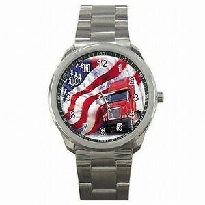 【送料無料】腕時計 トラックアメリカトラックアメリカステンレススチールウォッチ