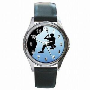 【送料無料】腕時計 ロッククライミングロープハーネスレザーウォッチ