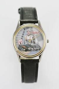 【送料無料】腕時計 デイルアーンハートメンズステンレススチールウォッチシルバーゴールドブラックレザークォーツ