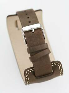 腕時計 メンズウォッチステンレスゴールドブラウンrelic watch mens stainless gold brown wide leather water resistant stone quartz