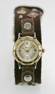 【送料無料】腕時計 レディースブラウンレザークォーツステンレスゴールドレジストrelic watch womens brown leather date stainless gold silver water resist quartz