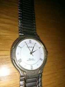 【送料無料】腕時計 ゴールドメッキメタルストラップウォッチwomens omax watch a078g gold plated 18k metal strap r1s1ib2