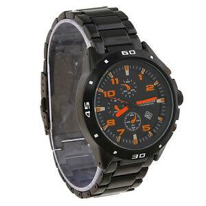 【送料無料】腕時計 ネロネロクワッドアランorologio polso curren 8021 uomo analogico quarzo datario nero quad nero aran lac