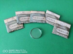 【送料無料】腕時計 ビンテージvetri orologi verlux metalbloc nos bague bombato piatto plexi vintage