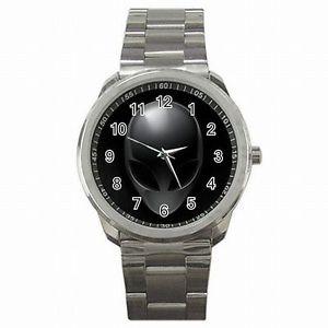 【送料無料】腕時計 エイリアンヘッドスペースアクセサリステンレススチールウォッチalien head space ufo roswell accessory stainless steel watch
