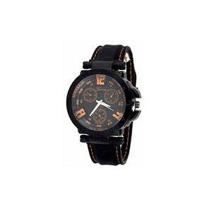 【送料無料】腕時計 オレンジメンズジュネーブシリコーンデザイナー