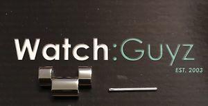 【送料無料】腕時計 ミハエルシルバーポリッシュリンクピンmichael kors bradshaw silver polished ss replacement watch link amp; pin mk6320