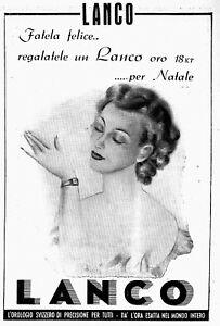 【送料無料】腕時計 ロドナモーダpubblicita 1948 lanco orologio svizzero di precisione oro donna moda eleganza
