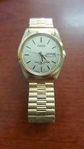 送料無料 腕時計 当店限定販売 ビンテージパルサーゴールドトーンウォッチvintage phasar pulsar v5338a50 quartz parts for watch working not tone バーゲンセール gold