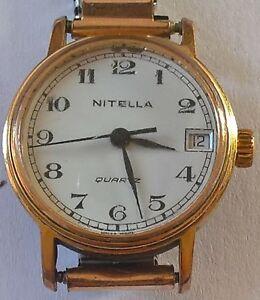 【送料無料】腕時計 montre femme nitella quartz mvt fhf