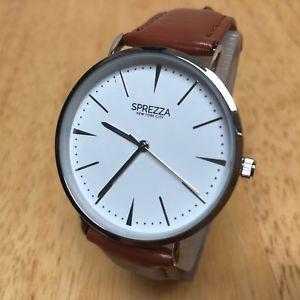 【送料無料】腕時計 ローズゴールドトーンスリムアナログクォーツウォッチバッターchronos 2016 men rose gold tone slim leather analog quartz watch hour~ batter