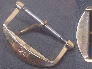 【送料無料】腕時計 オリジナルビンテージバックルローズゴールドメッキインナー