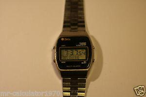 【送料無料】腕時計 ビンテージベータアラームデジタルウォッチrare vintage beta multy alarm digital watch 1970s working