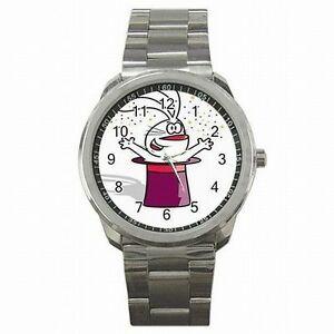 【送料無料】腕時計 トリックバニーウサギステンレススチール