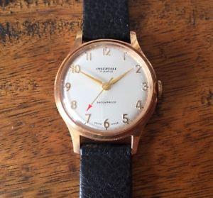 【送料無料】腕時計 ウォッチジュエルケースingersoll 7 jewel watch 1960s stunning case