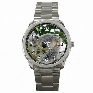 【送料無料】腕時計 コアラオーストラリアアウトバックステンレススチールベアウォッチ