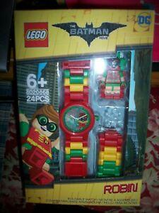 【送料無料】腕時計 レゴバットマンロビンプログラマブルビルドウォッチミニ#lego the batman movie robin buildable watch w minifigure 8020868 gift