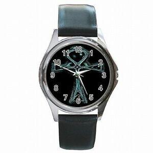 【送料無料】腕時計 アンクエジプトナイルキーレザーウォッチankh egyptian crux anasta breath of life nile key leather watch