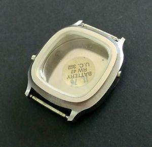 【送料無料】腕時計 ケースビンテージbuolova quartz case * vintage nos