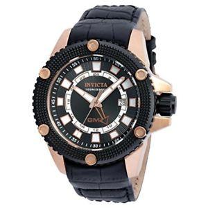 【送料無料】腕時計 メンズレザーストラップステンレススチールスピードウェイinvicta mens 48mm speedway gmt date leather strap stainless steel watch 19305