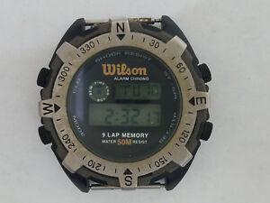 【送料無料】腕時計 ウィルソンアラームクオーツデジタルwilson alarm quartz wrist watch digital