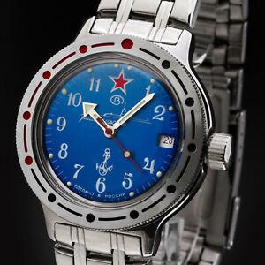 腕時計 ヴォストークスキーダイビングウォッチロシアvostok komandirskie taucheruhr 200m automatik 2416b420289 russische uhr
