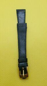 公式 【送料無料】腕時計 ブレスレットbracelet pour pour montre n51 en cuir sitbon 14 montre mm noire boucle en acier dor n51, 印章の伝統をきざむ ミナミ:fc2816c7 --- claudiocuoco.com.br