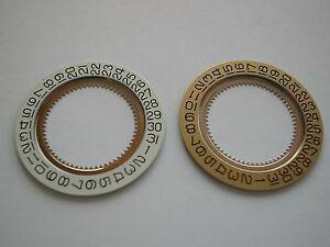 【送料無料】腕時計 ;ディスクeta 255461, 1538, eta 256461 l1702, 1588; 1 original date disc in y or w