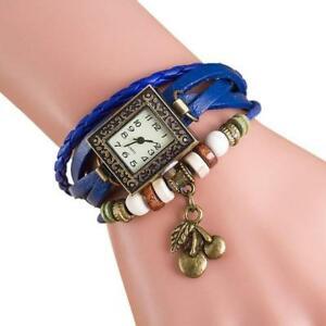 【送料無料】腕時計 ブレスレットcherry bracelet lady woman wrist watch