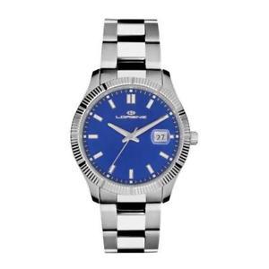 【送料無料】腕時計 ブルクラシコサブメートルorologio lorenz 026978ee bracciale acciaio blu classico sub 50mt uomo donna