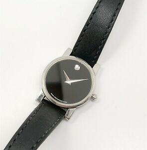 【送料無料】腕時計 ステンレススチールレディースウオッチメーカーestate modernist stainless steel movado 845 museum design ladies wristwatch