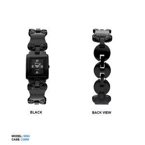 【送料無料】腕時計 ジュネーブプラチナレディースリンクチェーン geneva platinum ladies link chain rectangular wrist watch 23mm