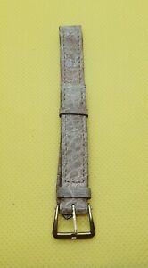 【送料無料】腕時計 ブレスレットリレーベージュbracelet pour montre en cuir a barthelay 12 mm beige boucle en acier dor n53