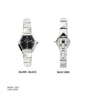 【送料無料】腕時計 ジュネーブプラチナレディース geneva platinum ladies octagon wrist watch 23mm
