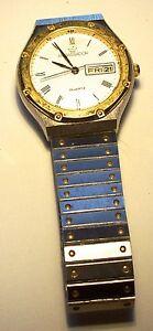 【送料無料】腕時計 シルバーストーンゴールドストーンアンバサダークロマトグラフィーlovely silver tone amp; gold tone ambassador quartz watch tlc