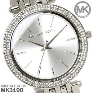 【送料無料】腕時計 ミハエルクロノグラフアナログウォッチ¥michael kors mk3190 silver darci chronograph analogue watch rrp 225