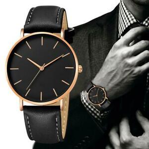 【送料無料】腕時計 アナログクォーツスポーツウォッチsynthetic leather analog quartz sport watch