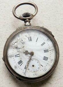 【送料無料】腕時計 アルジェントノートルダムデュキャップ§montre a gousset mecanique en argent §h3