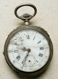 【送料無料】腕時計 アルジェントノートルダムデュキャップ§jullian a montpellier montre a gousset mecanique en argent §h4