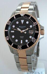 【送料無料】腕時計 リージェントスチールダイバーバーユーロregent steel taucheruhr  30 bar wr uvp 99,00 eur neu