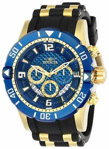 【送料無料】腕時計 プロスキューバダイバーブラックポリウレタンステンレススチールウォッチ