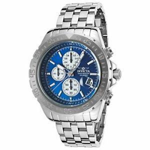 【送料無料】腕時計 ステンレススチールクロノグラフウォッチinvicta aviator 18849 stainless steel chronograph watch