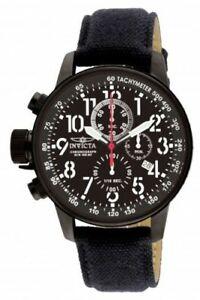 【送料無料】腕時計 メンズブラッククロノグラフウォッチ